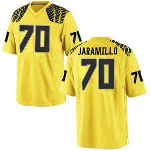 Dawson Jaramillo Nike Oregon Ducks Men's Replica Football College Jersey - Gold
