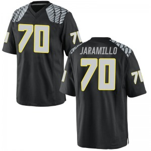 Dawson Jaramillo Nike Oregon Ducks Youth Game Football College Jersey - Black