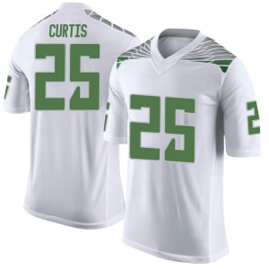 Spencer Curtis Nike Oregon Ducks Youth Limited Football College Jersey - White